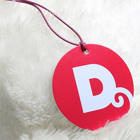 Circle Hang Tags