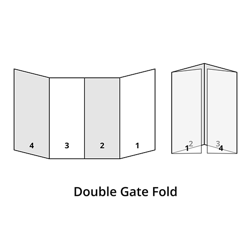 Double Gate Fold Brochure