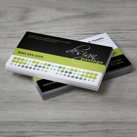 Standard business card printing rectangle slim or square uprinting wajeb