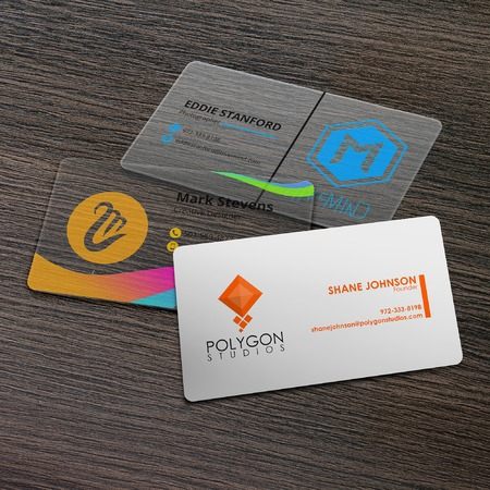 plastic business card printing - Business Card Printing
