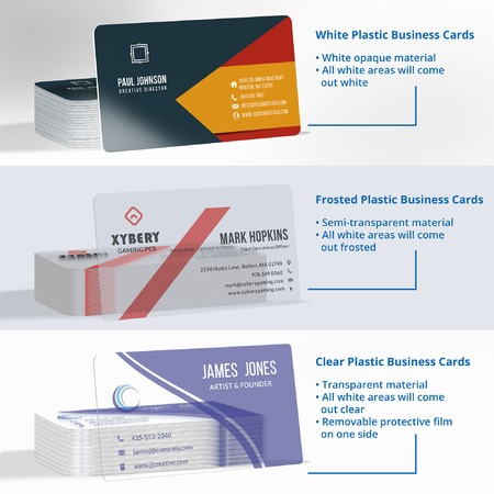 Plastic Business Cards Prints