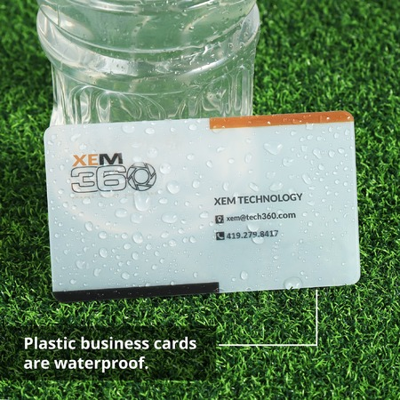 Waterproof Plastic Business Cards