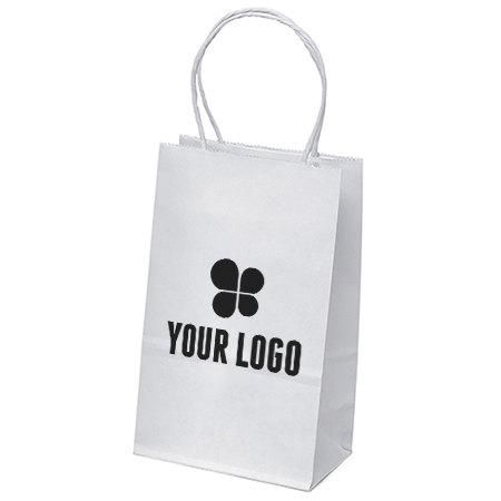 5-1/4 x 8-1/4 White Paper Bags