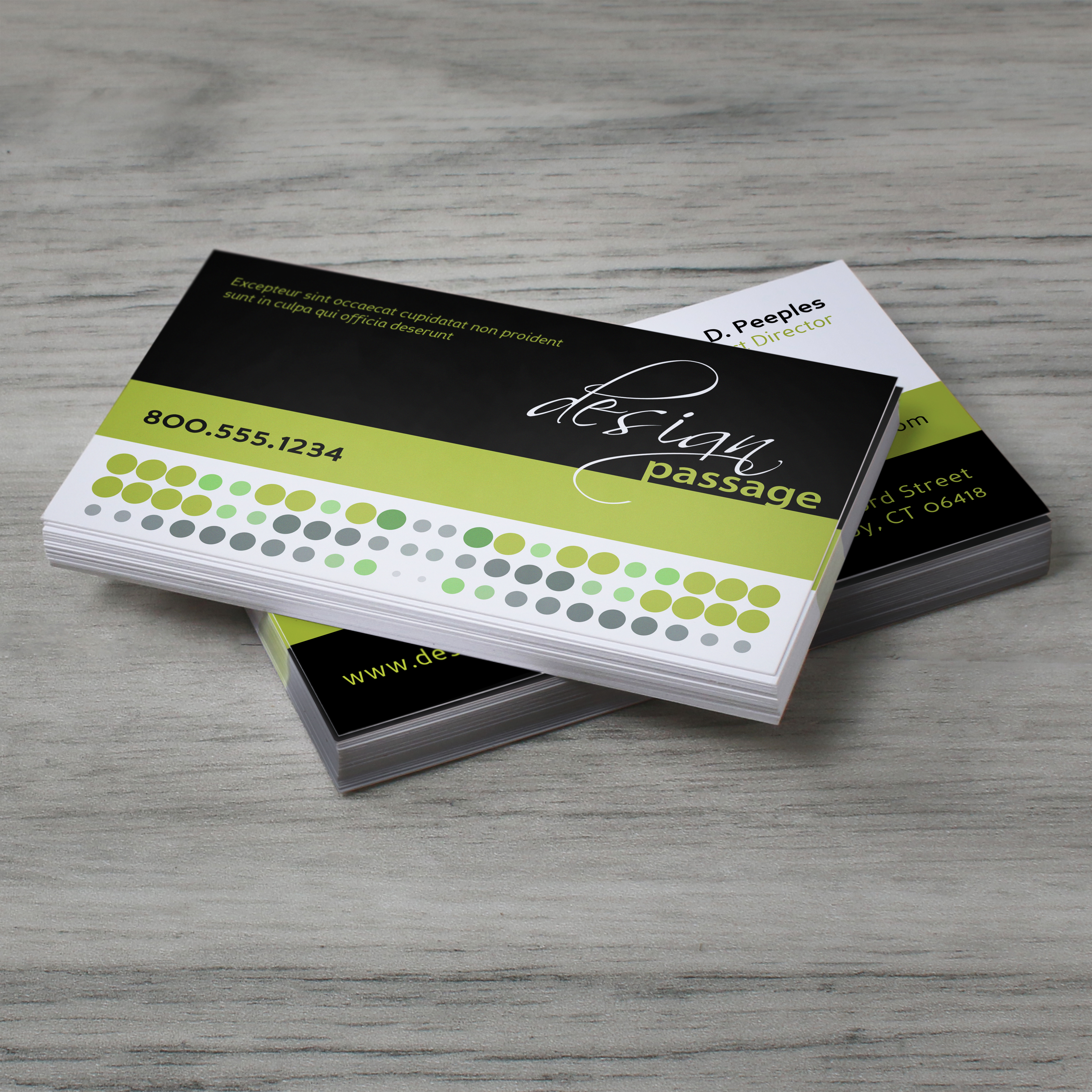 Standard Business Card Printing - Rectangle, Slim or Square | UPrinting