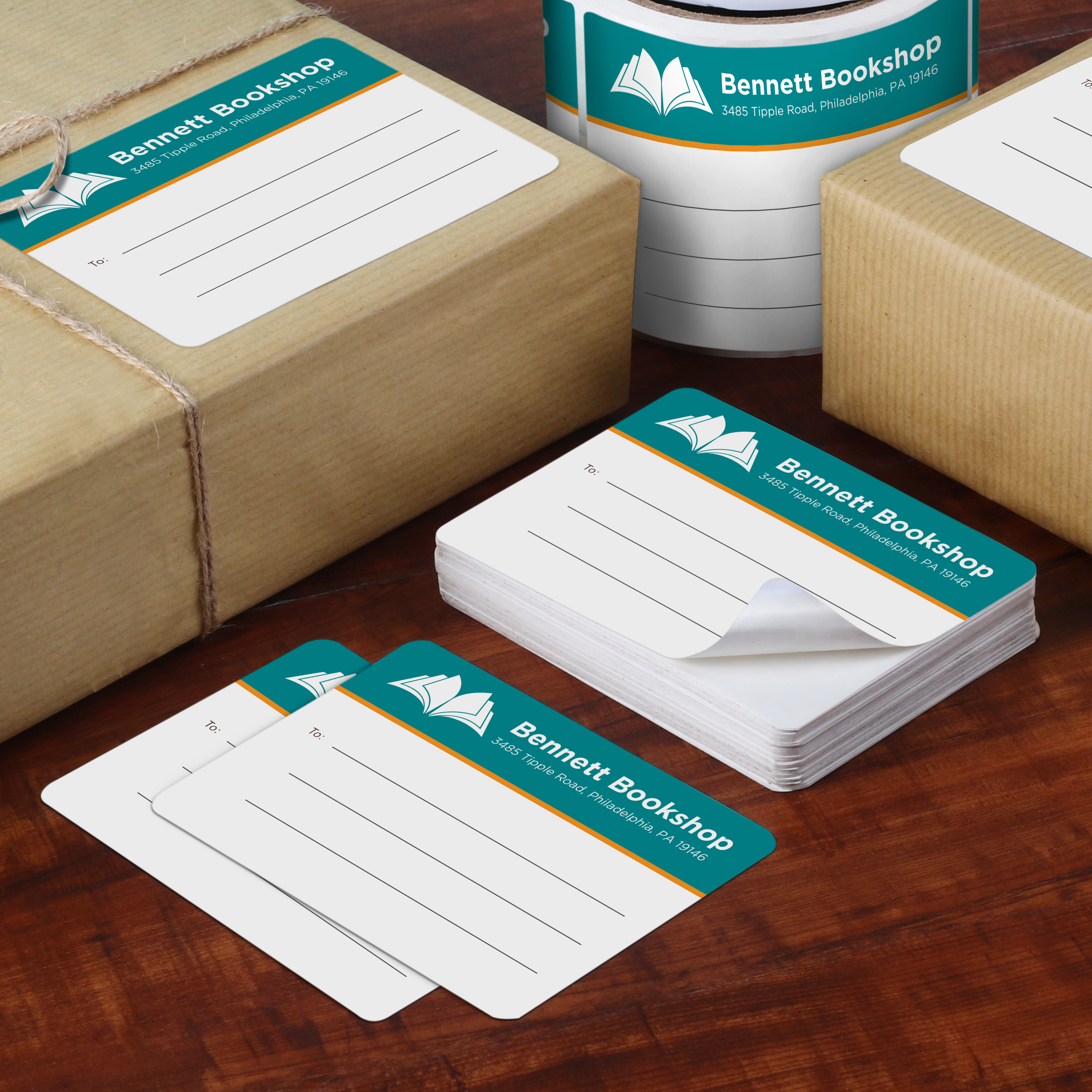 shipping and mailing labels custom shapes and sizes uprinting