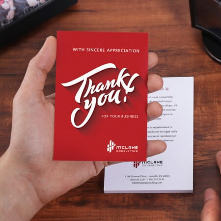 Custom Thank You Cards Uprinting